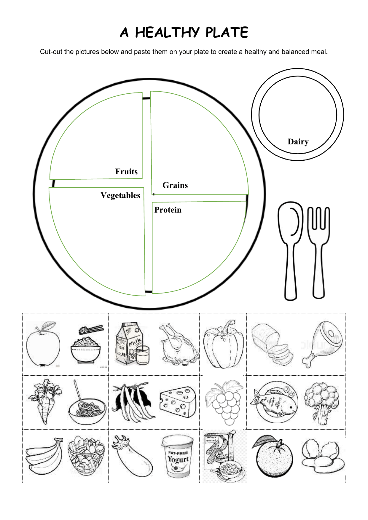 A Healthy Plate