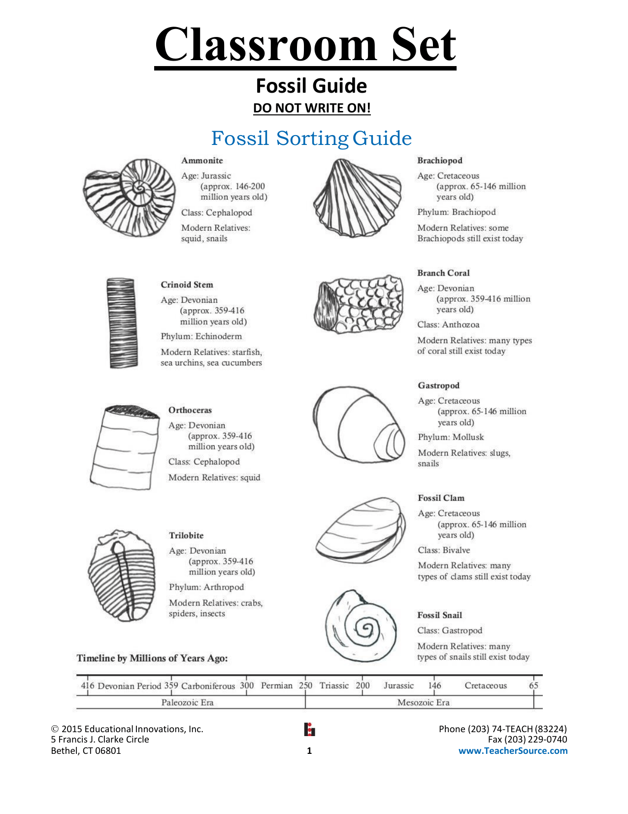 Fossil Guide
