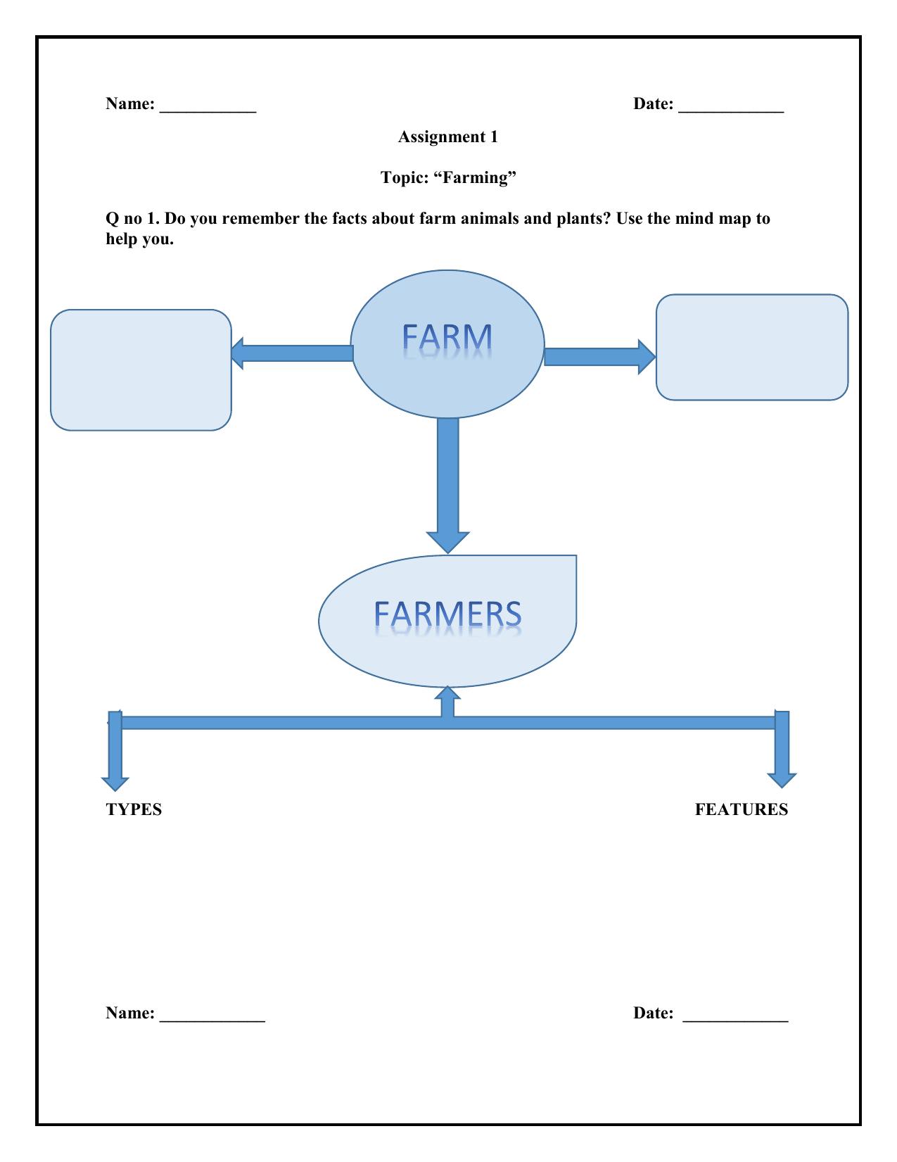 Worksheet Grade 4