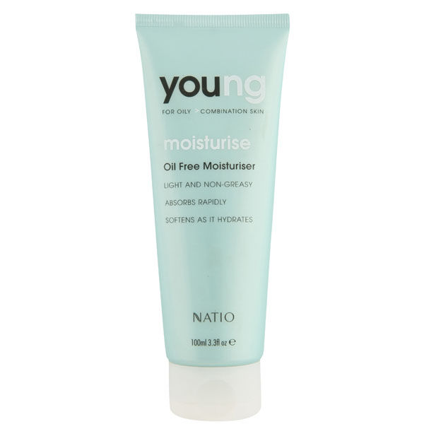 Natio Young Oil Free Moisturiser 100ml Free Shipping