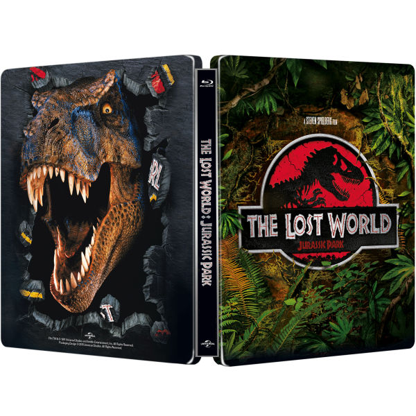 Jurassic Park The Lost World Zavvi Exclusive Limited Edition Steelbook Limited To 3000