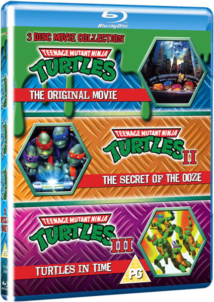 Teenage Mutant Ninja Turtles The Movie Collection Blu Ray