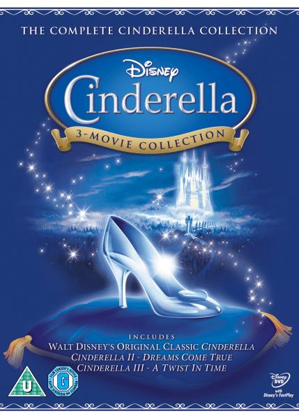 Cinderella 1 2 And 3 DVD Zavvi
