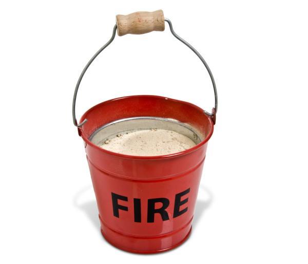 Fire Bucket Ashtray IWOOT