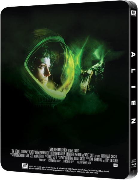 Alien Limited Edition Steelbook Blu Ray Zavvi