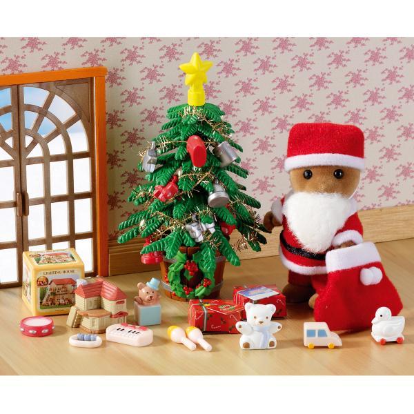Sylvanian Families Father Christmas Amp Tree Set IWOOT