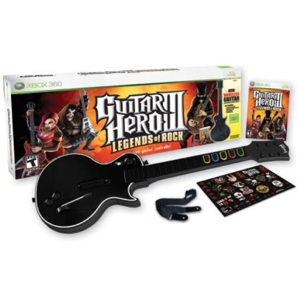 Guitar Hero 3 Legends Of Rock Guitar Controller Game