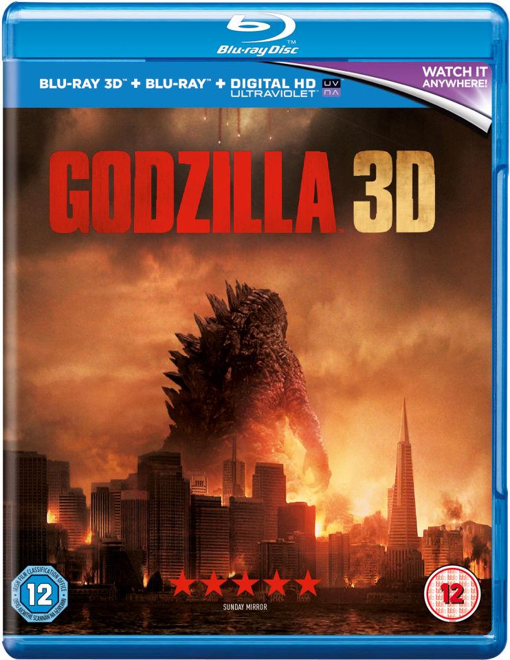 Godzilla 3d Blu Ray Zavvi
