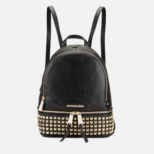 MICHAEL MICHAEL KORS Women's Rhea Zip Studded Backpack - Black