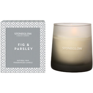 Stoneglow Geometric Collection Fig and Parsley Tumbler