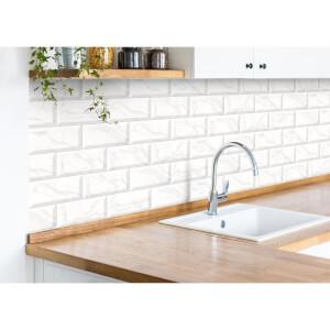 metro light grey carrara wall tile 20 x 10cm 25 pack