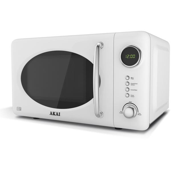 Akai A24006W Digital Microwave White 700W Homeware
