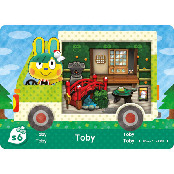 Animal Crossing New Leaf Sanrio Amiibo Cards Pack