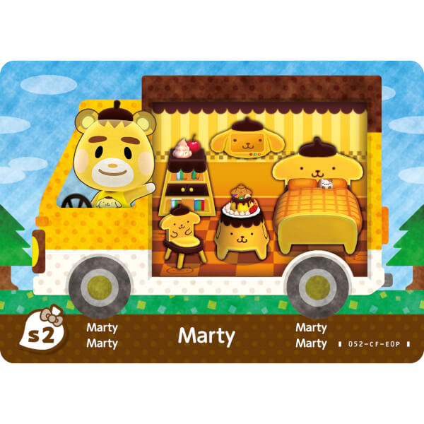 Animal Crossing New Leaf Sanrio Amiibo Cards Pack Nintendo Official UK Store