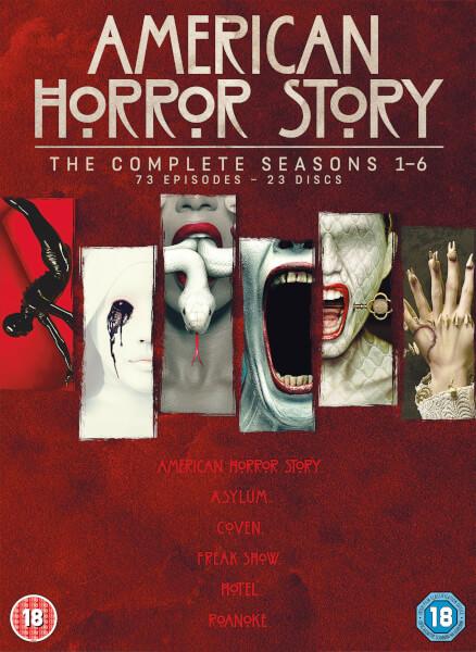 American Horror Story Season 1 6 DVD Zavvi