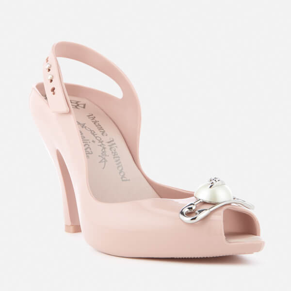 Vivienne Westwood for Melissa Women's Lady Dragon 19 Heeled Sandals - Blush Pin: Image 11