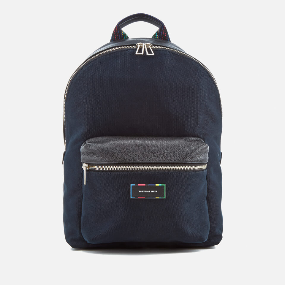 PS By Paul Smith Mens Canvas Rucksack Navy