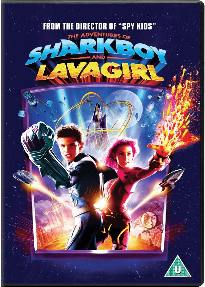 Shark Boy And Lava Girl Dvd Zavvi