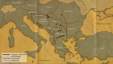 Bildergebnis für Flüchtlingsroute Bosnien