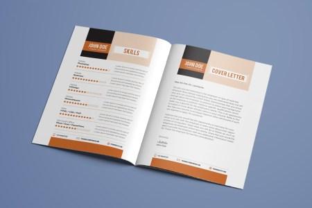 Luxury Resume Booklet Psd Pictures - Resume Ideas - namanasa.com