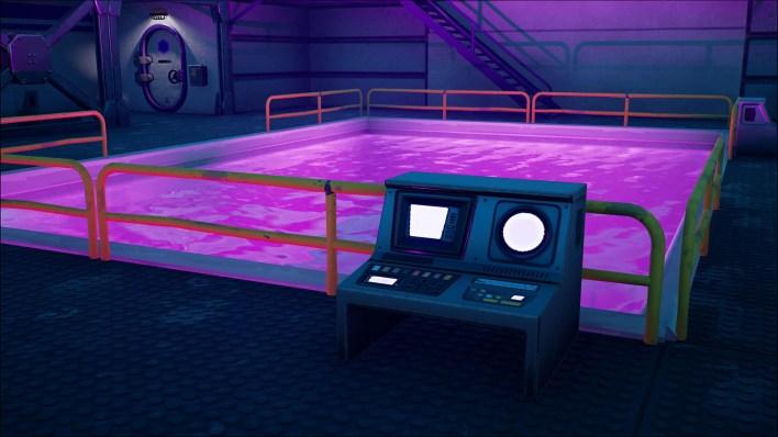 Пурпурный бассейн Fortnite