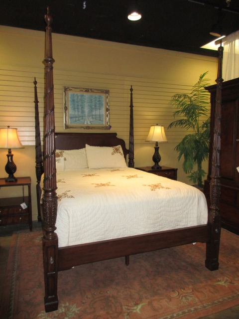 ethan allen poster bed at the missing piece
