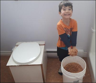 composting toilet, Hesitant-Homesteader, homesteading, thinking about homesteading