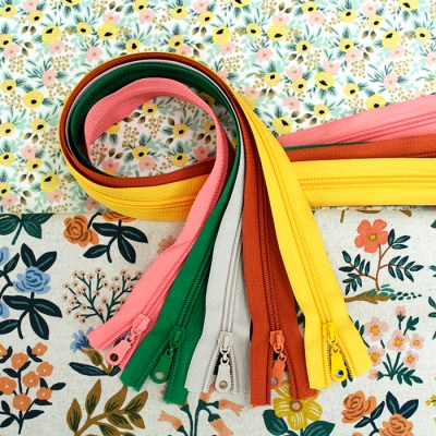 Wildflower Fabric & Zipper Bundle