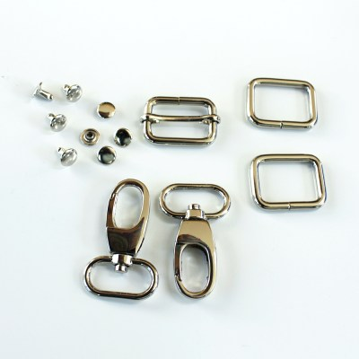 1 Adjustable Strap Kit - Silver