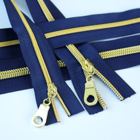 3-5-Nylon-Coil-Zipper-navy-blue-with-gold-teeth