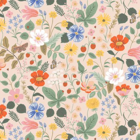 Strawberry Fields - Blush Fabric