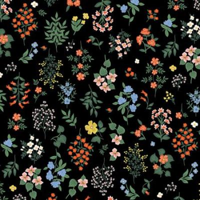 Strawberry Fields - Hawthorne - Black Fabric