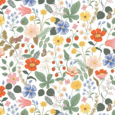 Strawberry Fields - Ivory Fabric