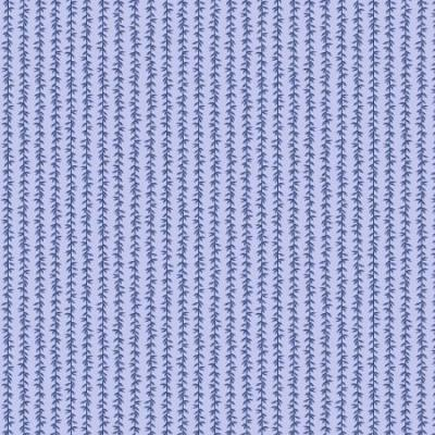 Strawberry Fields - Laurel Stripe - Chambray Fabric