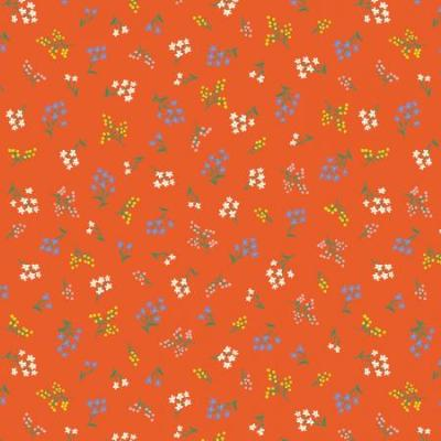 Strawberry Fields - Petites Fleurs - Rifle Red Fabric