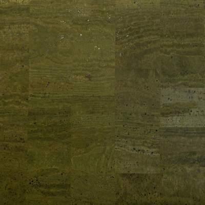 Cork Fabric – Dark Green