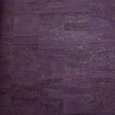 Cork Fabric Eggplant