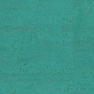Cork Fabric – Ocean Blue
