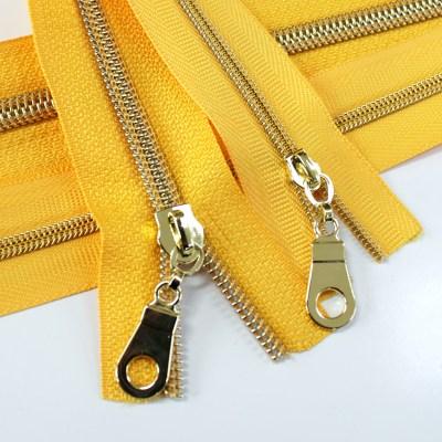 #3_#5-sunflower-yellow-zipper-gold-coil