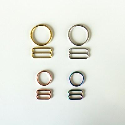 Bra Rings and Sliders Set (pack of 2)
