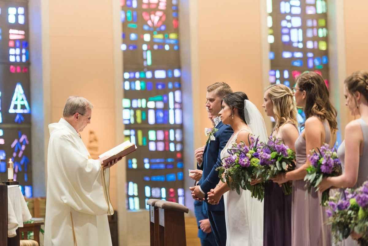 St. Joseph the Worker Catholic Church wedding ceremony