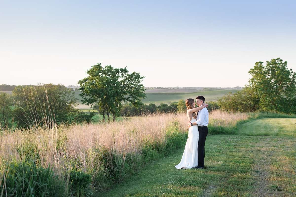 sugar grove vineyard and gathering place in newton for wedding day
