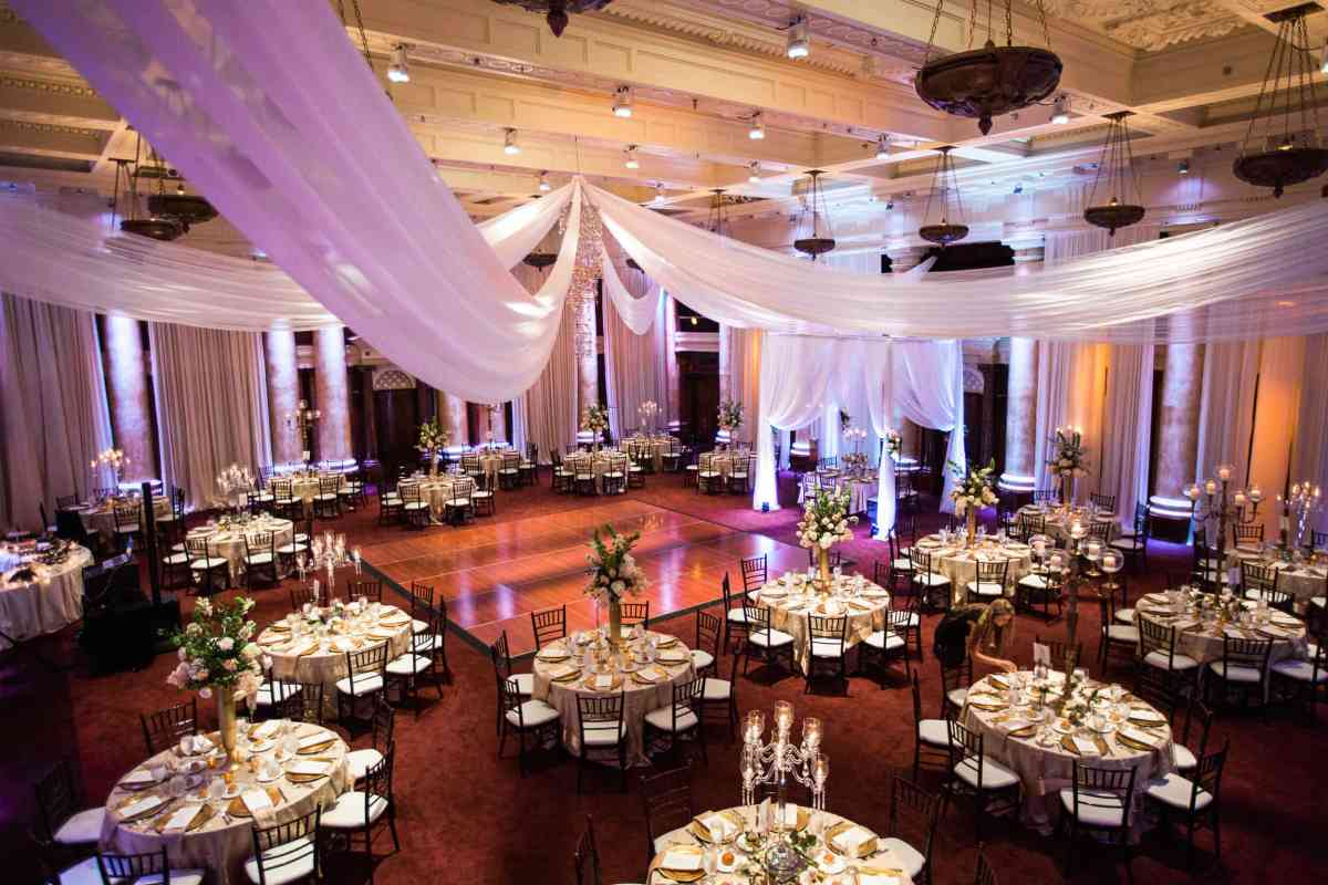 Temple for performing arts Des Moines wedding venue