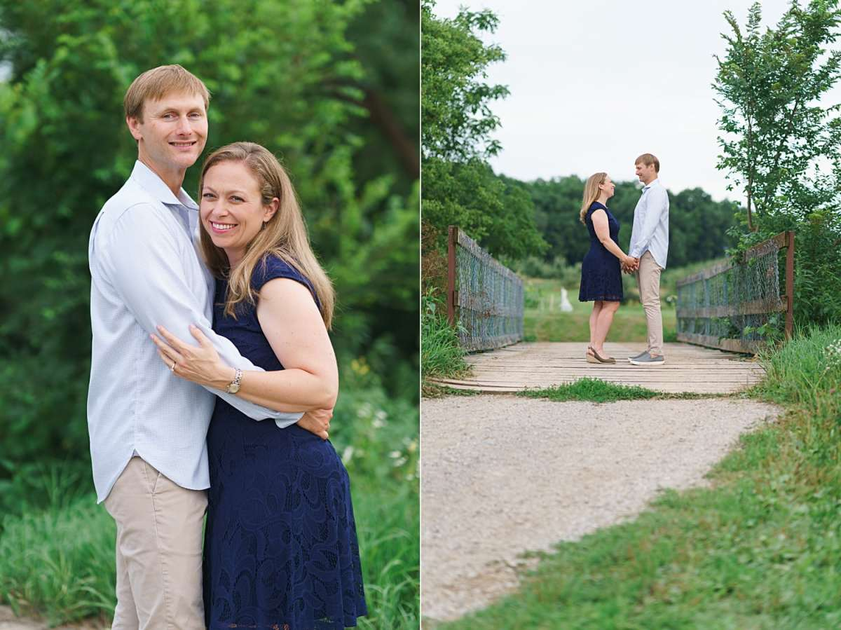 wilson's apple orchard engagement session