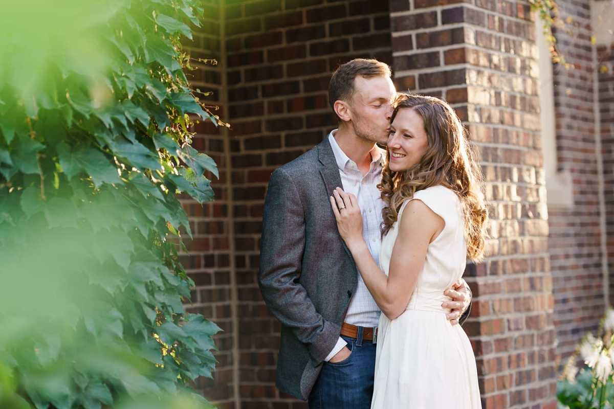 Grinnell College engagement photos