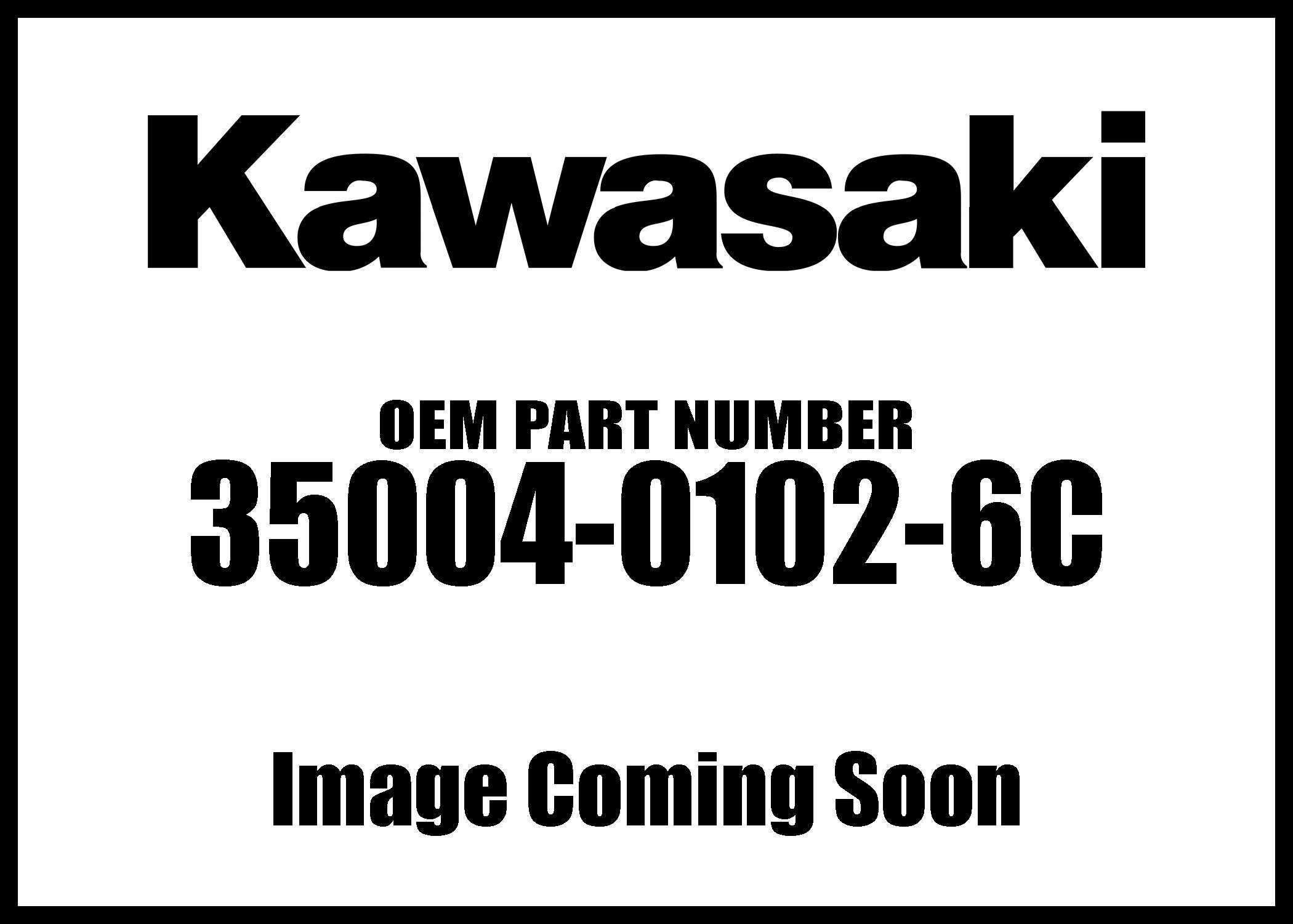 Kawasaki Klr650 Klr650 Camo Front Ebony Fender 6c New Oem
