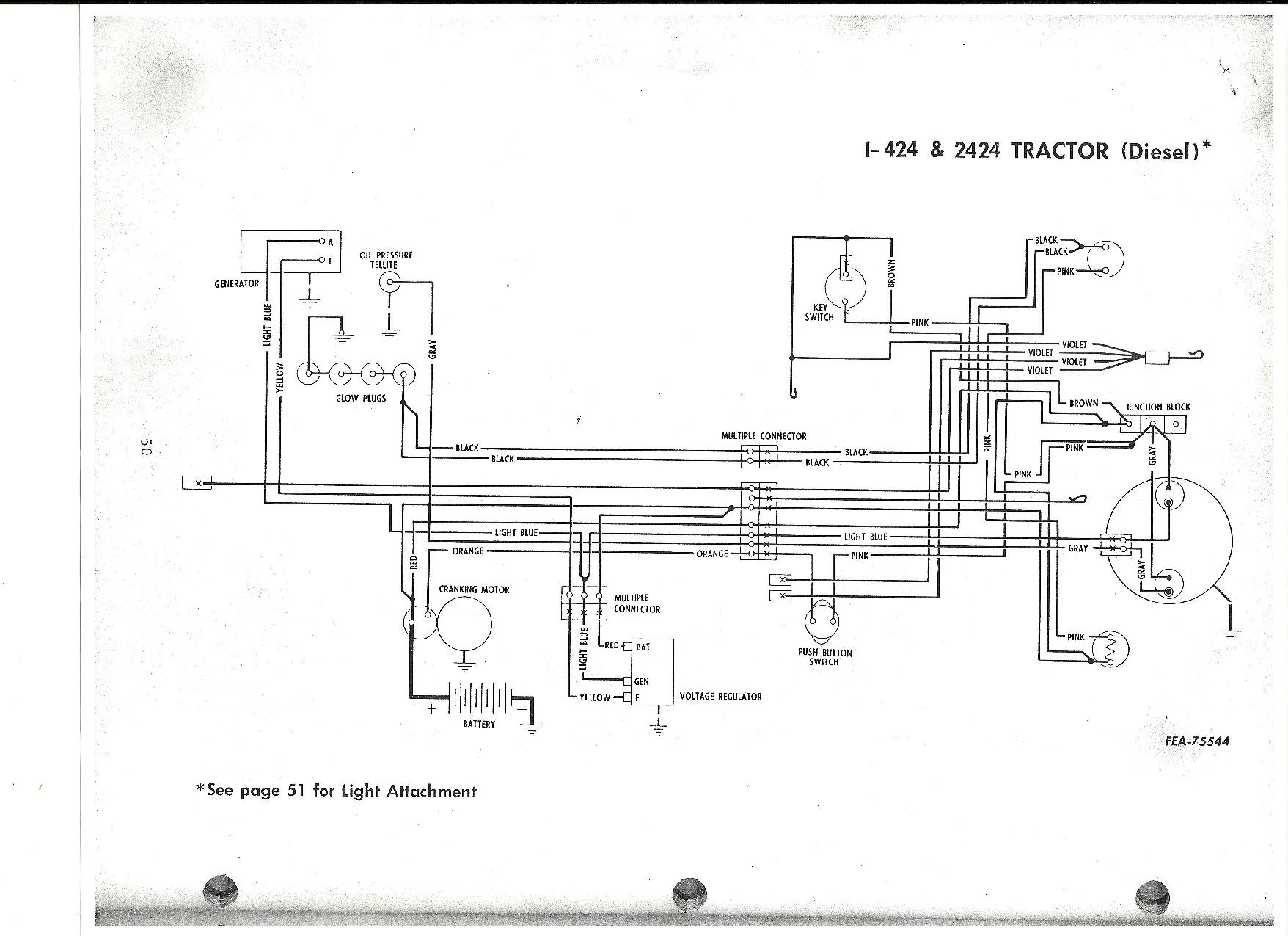Case 444 Wiring Diagram