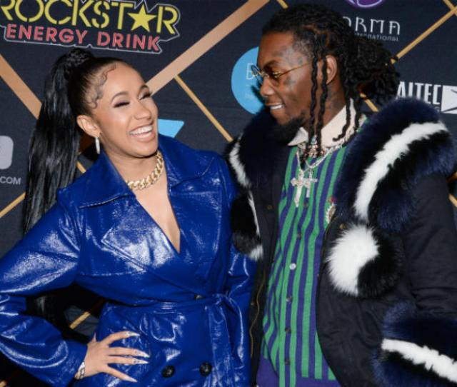 Cardi B And Offset Of Migos Walking On The Red Carpet At The The  Maxim
