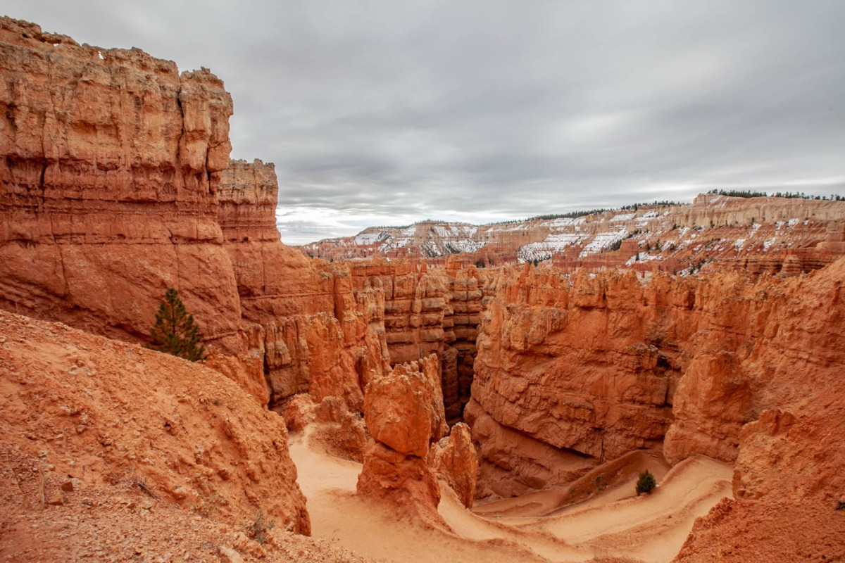 Wall Street on the Queens Garden Trail Navajo Loop Combination Hike - Best Hike at Bryce Canyon National Park #vezzaniphotography