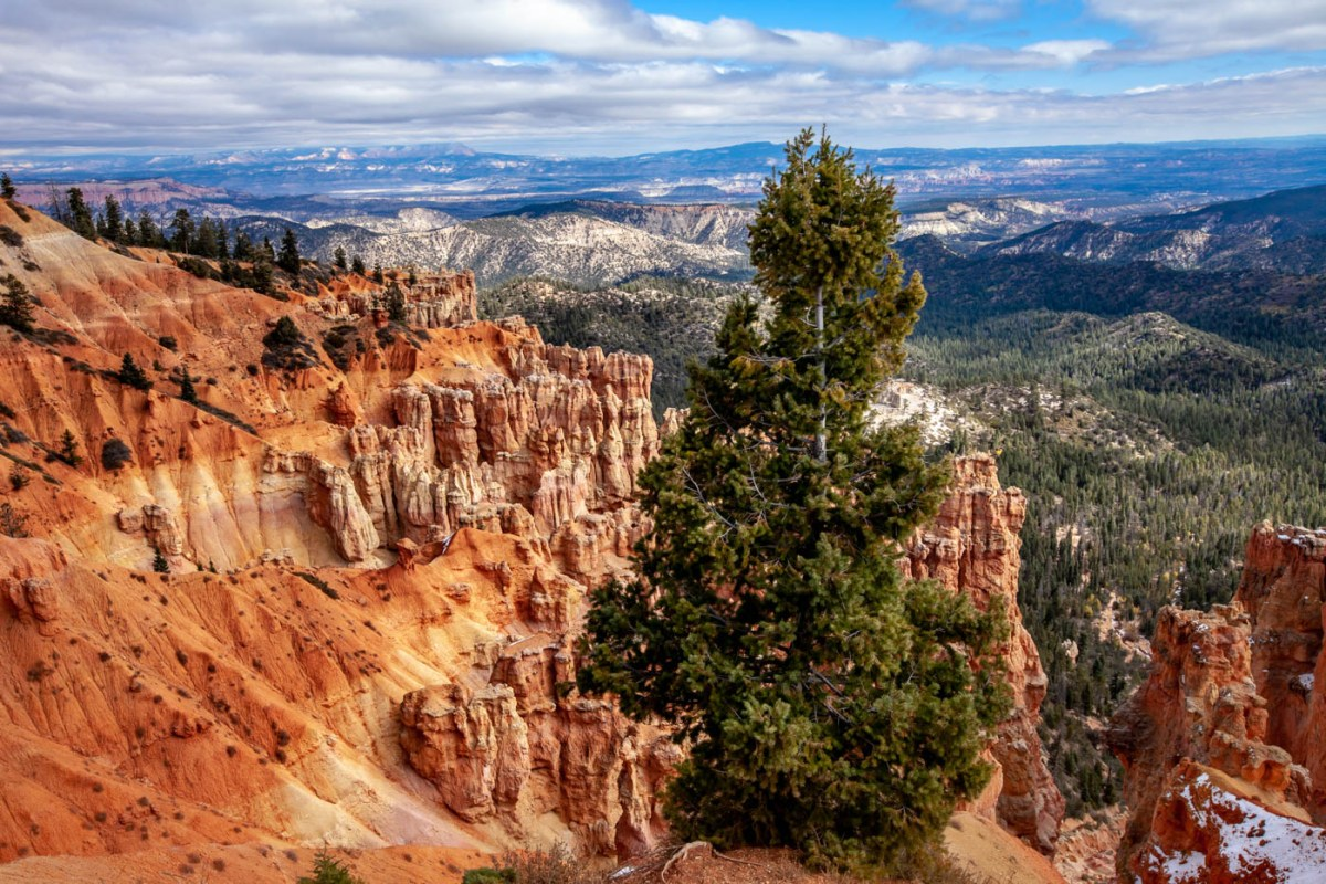 18-Mile Scenic Drive Ponderosa Point Overlook at Bryce Canyon National Park #vezzaniphotography